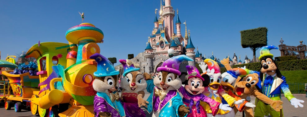 Share the Magic of Disneyland Paris on School Trips to France
