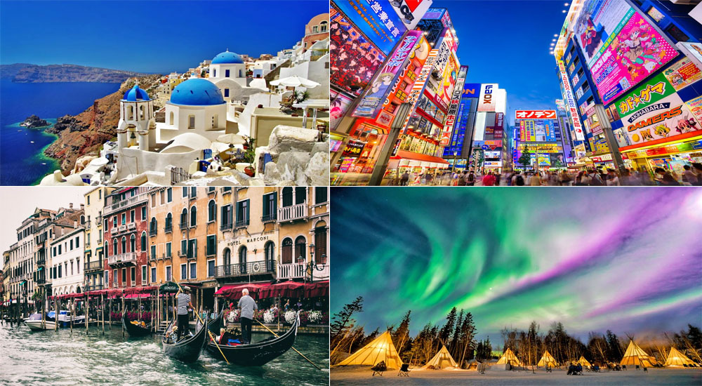 What Vacation Destinations Make For The Best Instagram Photos?