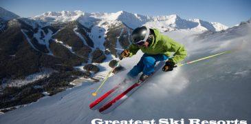 Greatest Ski Resorts in North America