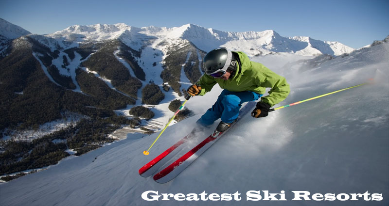 Greatest Ski Resorts in North America